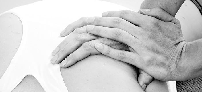 behandling av vonde muskler med triggerpunkts pressur